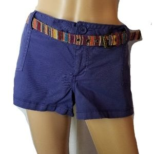 MOSSIMO SUPPLY Belted Shorts Juniors 17